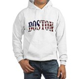 BOSTON - US Flag Design Hoodie