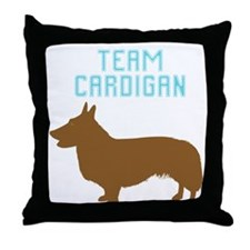 Cardigan Welsh Corgi Throw Pillow