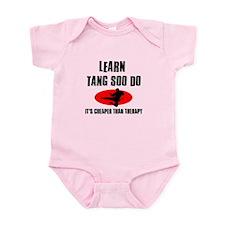 Tang Soo Do silhouette designs Infant Bodysuit