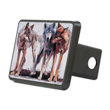 on canvasA - Rectangular Hitch Cover