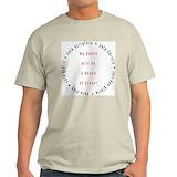 Calvinism, protestant reformation Mens Light T-shirts