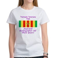 Vietnam Veterans Wife Tee