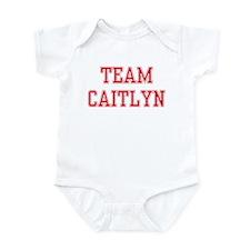TEAM CAITLYN  Infant Bodysuit