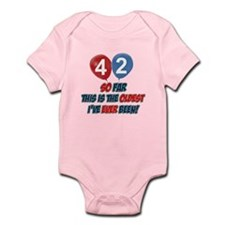 Gifts for the individual turning 42 Infant Bodysui