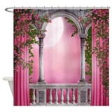 Spring Light Balcony Shower Curtain