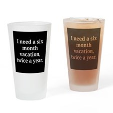 Funny Quotes Drinking Glass