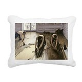 875 @oil on canvasA - Rectangular Canvas Pillow