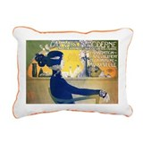 902 @posterA - Rectangular Canvas Pillow