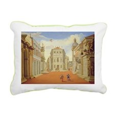 III @oil on canvasA - Rectangular Canvas Pillow