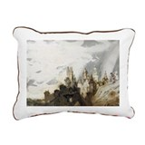 Le Gai Chateau @pen - Rectangular Canvas Pillow