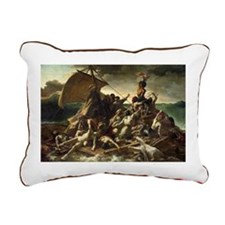 , 1819 @oil on canvasA - Rectangular Canvas Pillow