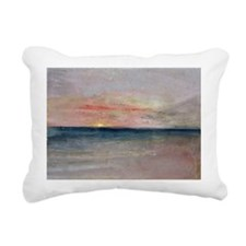 Sunset @w/cA - Rectangular Canvas Pillow