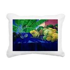 Tropical Fruit - Rectangular Canvas Pillow