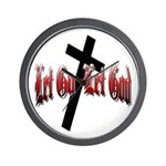 Let Go Let God Wall Clock