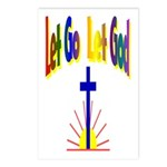 Let Go Let God Postcards (Package of 8)