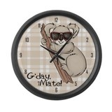 Koala Bear Large Wall Clock
