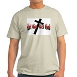 Let Go Let God Ash Grey T-Shirt