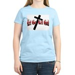 Let Go Let God Women's Pink T-Shirt