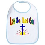 Let Go Let God Bib