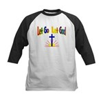 Let Go Let God Kids Baseball Jersey