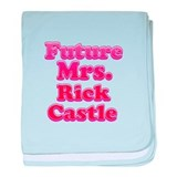 Future mrs Rick Castle pink baby blanket