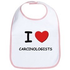 I love carcinologists Bib