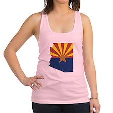 Arizona Flag Racerback Tank Top