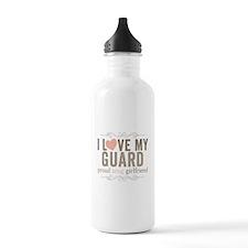 I Love my Guard Water Bottle