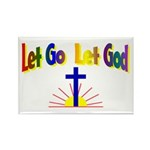Let Go Let God Rectangle Magnet (10 pack)