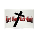 Let Go Let God Rectangle Magnet (100 pack)