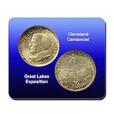 Cleveland Centennial Coin Mousepad