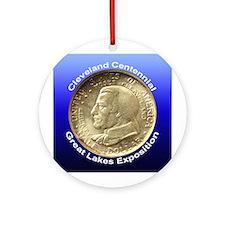 Cleveland Centennial Coin Ornament (Round)