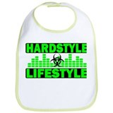 Hardstyle Lifestyle Hazzard and Tempo design Bib