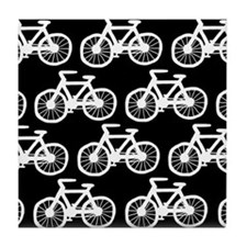 'Bicycles' Tile Coaster
