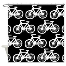 'Bicycles' Shower Curtain
