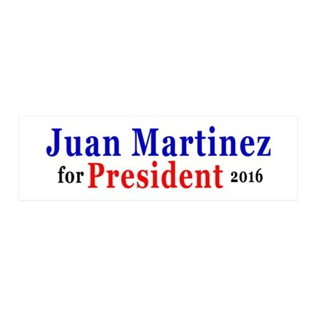 Juan for President Wall Decal