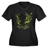 Gandhi Vine - Change - Green Plus Size T-Shirt