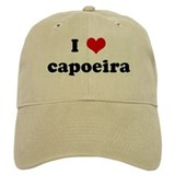 I Love capoeira Hat