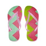 Cocktails with Lilly - Chevron - Flip Flops