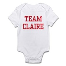 TEAM CLAIRE  Infant Bodysuit