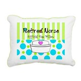 Retired Nurse Offician Nap pillow 1 Rectangular Ca