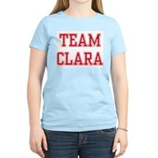TEAM CLARA  Women's Pink T-Shirt