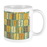 Flip Flops Retro Coffee Mug