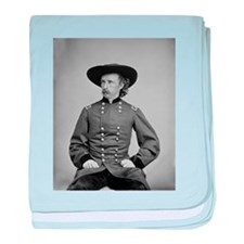 George A. Custer baby blanket