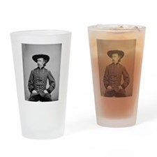 George A. Custer Drinking Glass