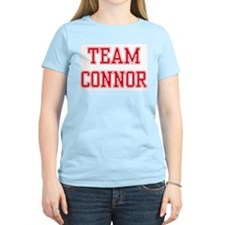 TEAM CONNOR  Women's Pink T-Shirt