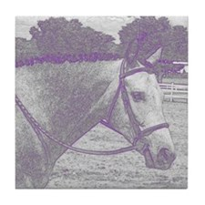 English Horse Tile Coaster