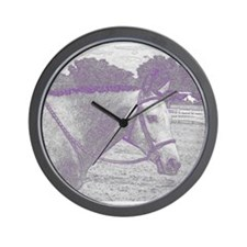 English Horse Wall Clock