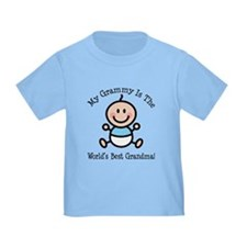 Best Grammy Baby Boy Stick Figure T