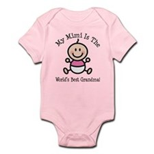 Best Mimi Baby Girl Stick Figure Infant Bodysuit